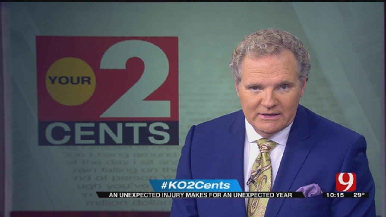 Your 2 Cents: An Unexpected Injury Makes For An Unexpected Year