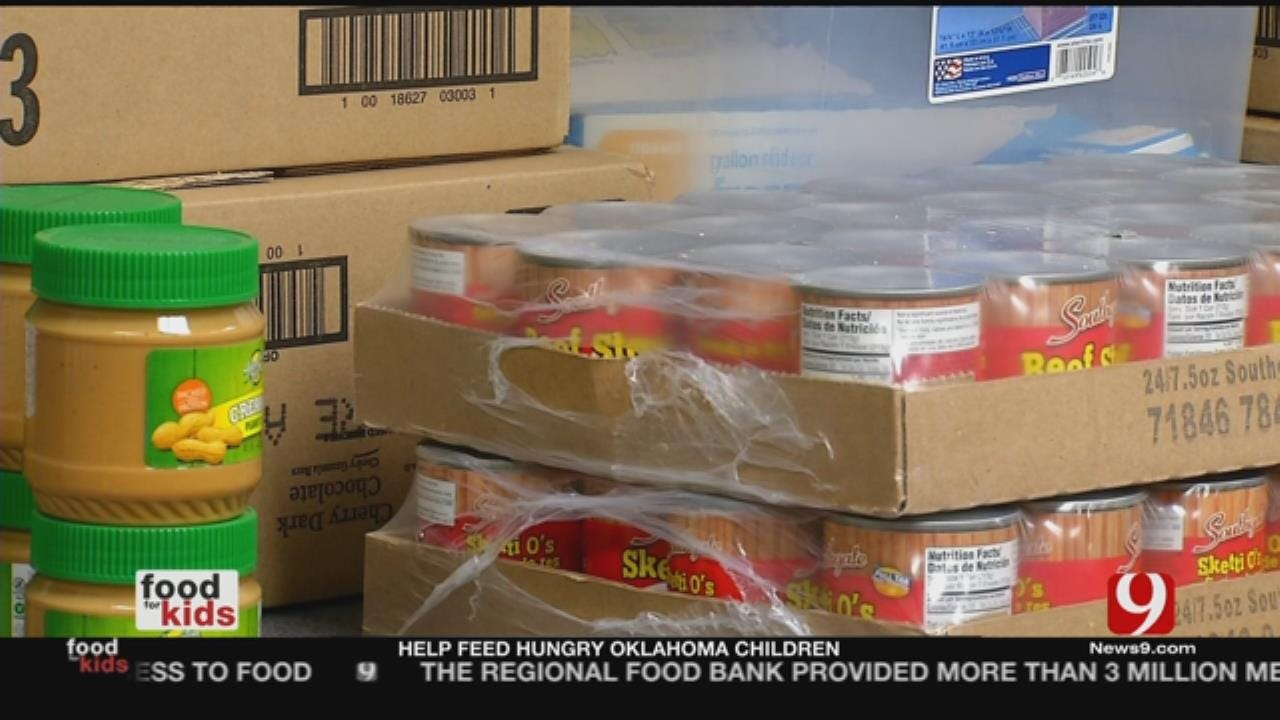 School Pantries Help Oklahoma Families In Need