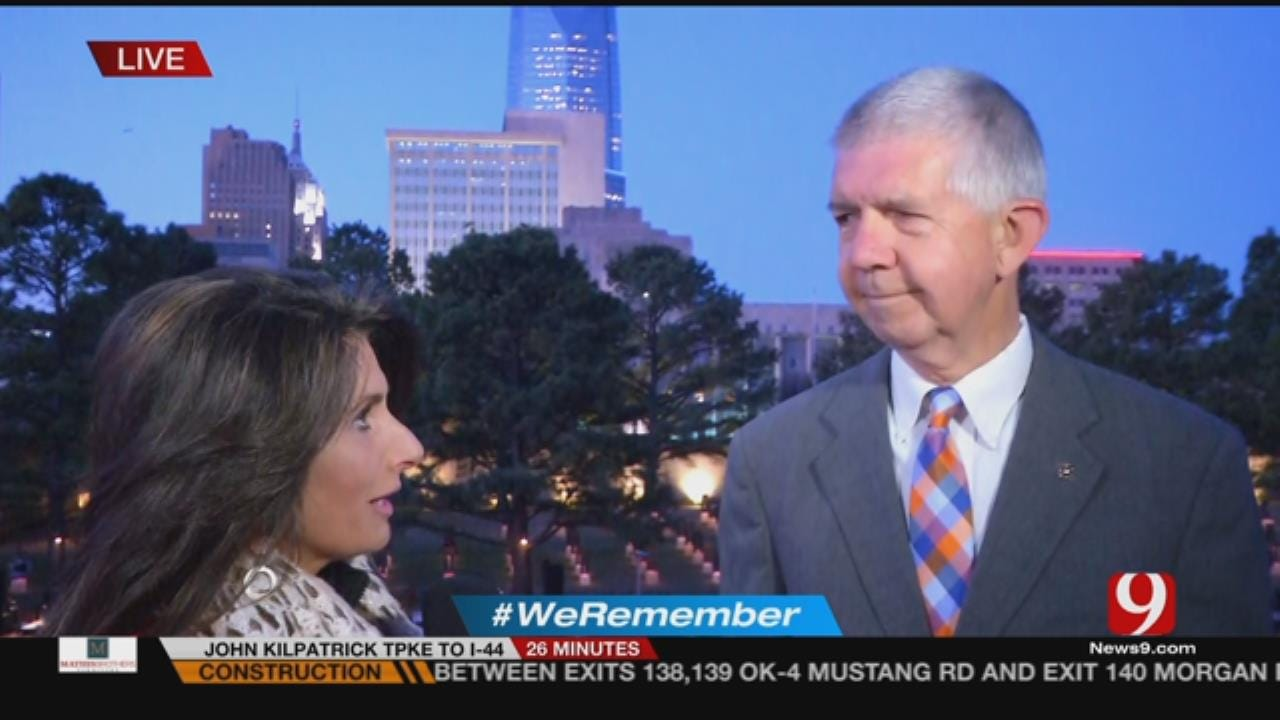 Interview With OKC Memorial Chairman Steven Taylor