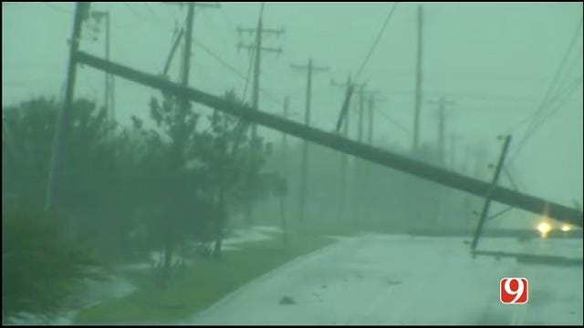WEB EXTRA: Storm Damage And Downed Power Lines In Norman