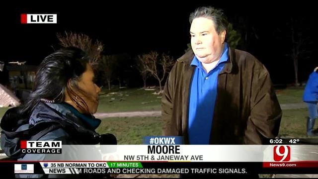 Moore Mayor Glenn Lewis Speaks About Storm Damage