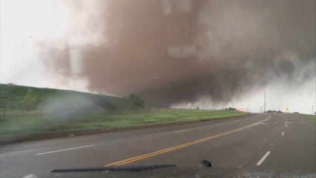 News 9's Storm Tracker James Menzies Tracks Deadly Moore Tornado
