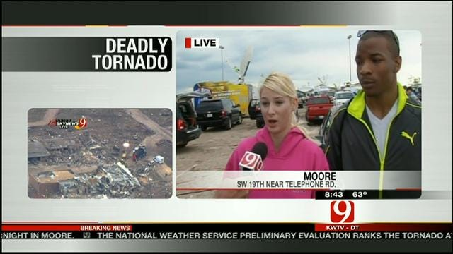 Survivors Took Shelter Under Bridge As Moore Tornado Roared Overhead