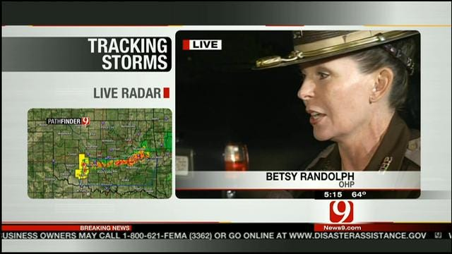 Trooper Betsy Randolph On Search, Rescue Efforts In Moore
