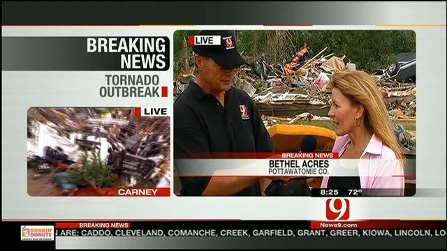 Pottawatomie County Commissioner Speaks About Devastation In Bethel Acres