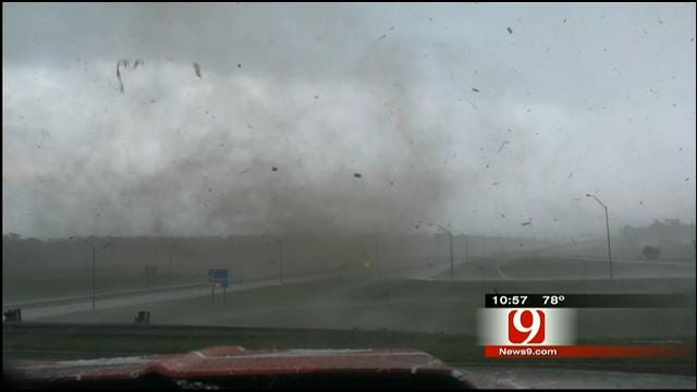 WEB EXTRA: A Ride With David Payne During Severe Weather