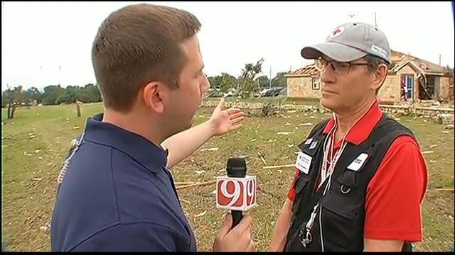 WEB EXTRA: News 9's Rusty Surette Interviews Red Cross