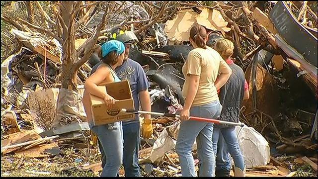 WEB EXTRA: News 9 Tours Tornado Damage In Granbury, Texas Part 1