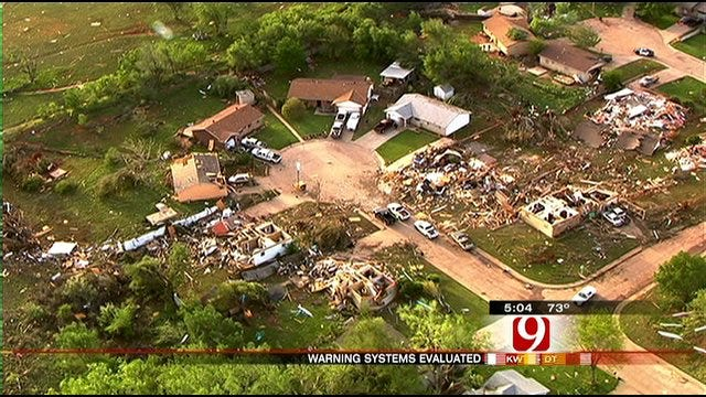 Survivors In Oklahoma Tornadoes Question Effectiveness of Warning Sirens