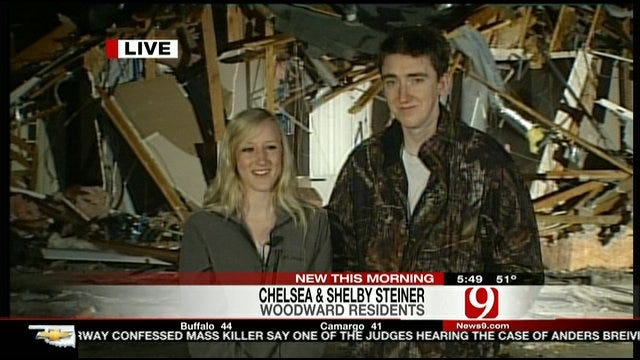 Siblings Talk About Terrifying Night Of Woodward Tornado