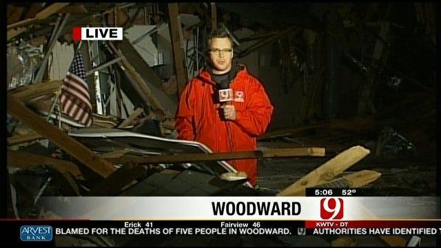 Jed Castles Recaps Tornado In Woodward