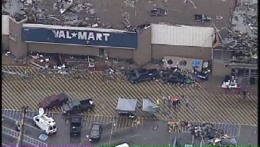 WEB EXTRA: SkyNews6 Aerials Of Walmart Damage In Joplin, Missouri