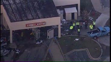 WEB EXTRA: SkyNews6 Shows Tornado-Damaged Hospital In Joplin, Missouri
