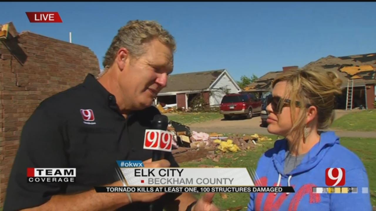 Kelly Ogle Talks To Family Who Barely Escaped Tornado