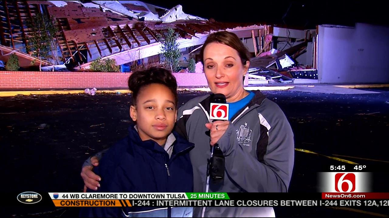 WEB EXTRA: Owner Of West Tulsa Gymnastics Studio Talks About Tornado