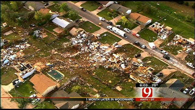Woodward Tornado: One Month Later