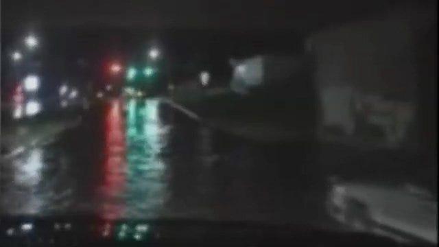WEB EXTRA: Storm Spotter Captures Ponca City Flooding
