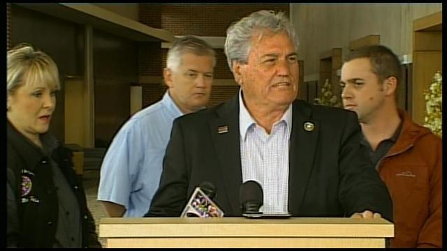 Gov. Fallin, Woodward City Officials Host Press Conference, Pt. 3