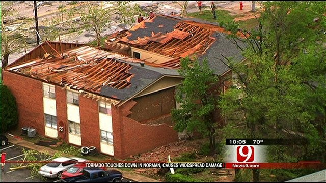 Norman Residents Share Their Tornado Experiences