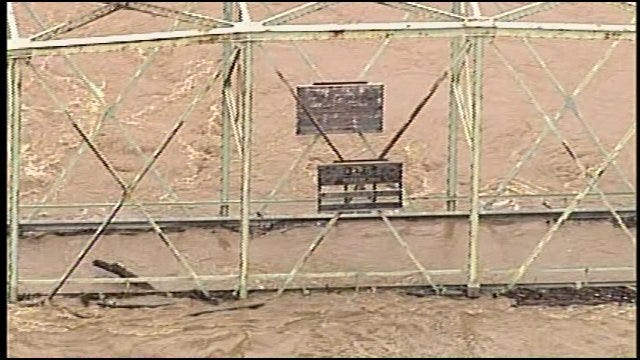 SkyNews6: More Illinois River Flooding In Cherokee County