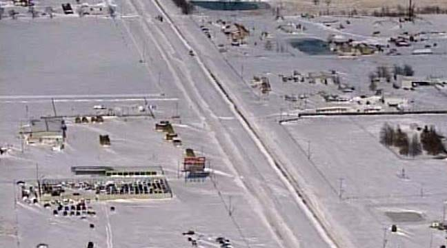 SkyNews 6: Liberty Mounds Area Blizzard Aftermath