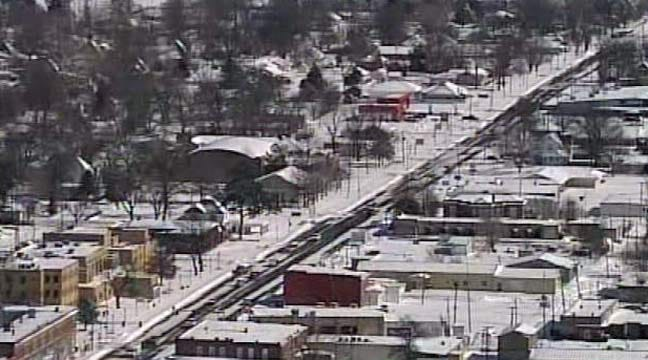 SkyNews 6: Wagoner Blizzard Aftermath