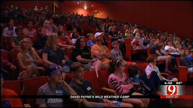 David Payne Hosts Wild Weather Camp At OK Science Museum