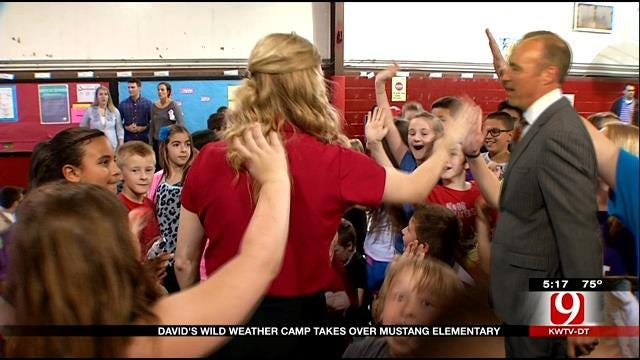 David's Wild Weather Camp Takes Over Mustang Elementary