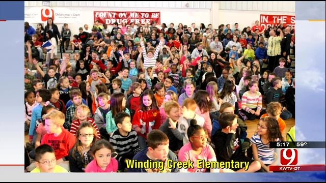 Wild Weather Camp Comes To Winding Creek Elementary
