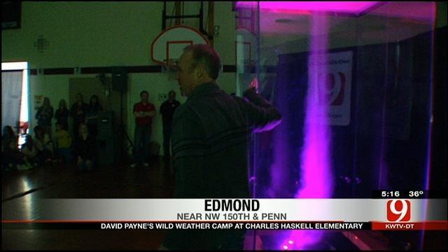 David Payne's Wild Weather Camp Visits Haskell Elementary School In Edmond, Part II