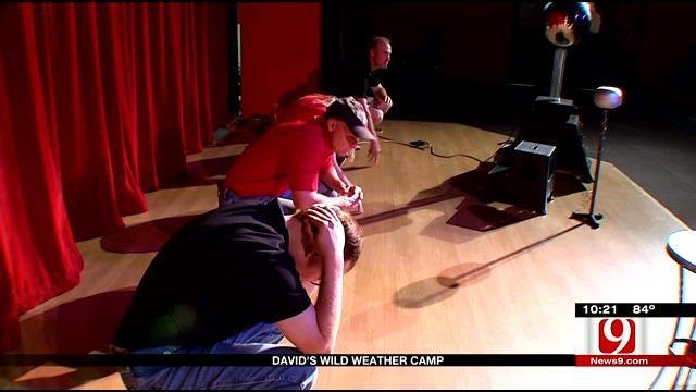 David Payne's Wild Weather Camp Visits Science Museum Oklahoma Part 4