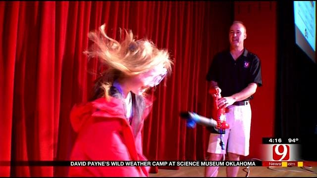 David Payne's Wild Weather Camp Visits Science Museum Oklahoma Part 1