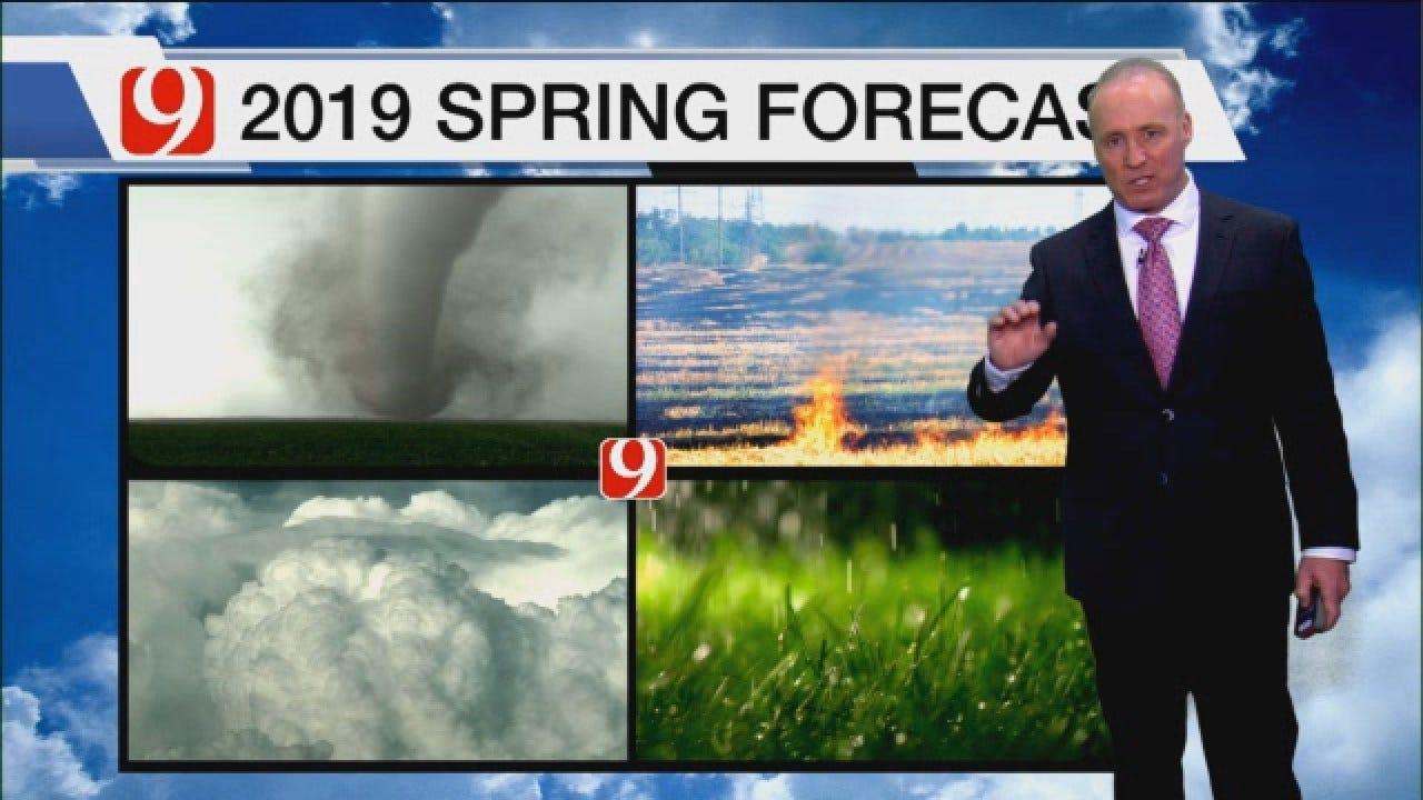 David Payne's 2019 Spring Tornado Forecast