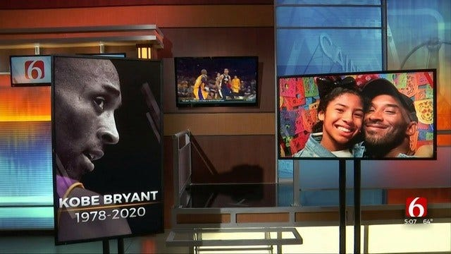 Tulsans Pay Tribute To NBA Great Kobe Bryant