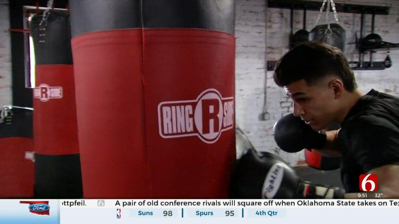 Tulsa Native Aims To Win Golden Glove Championship
