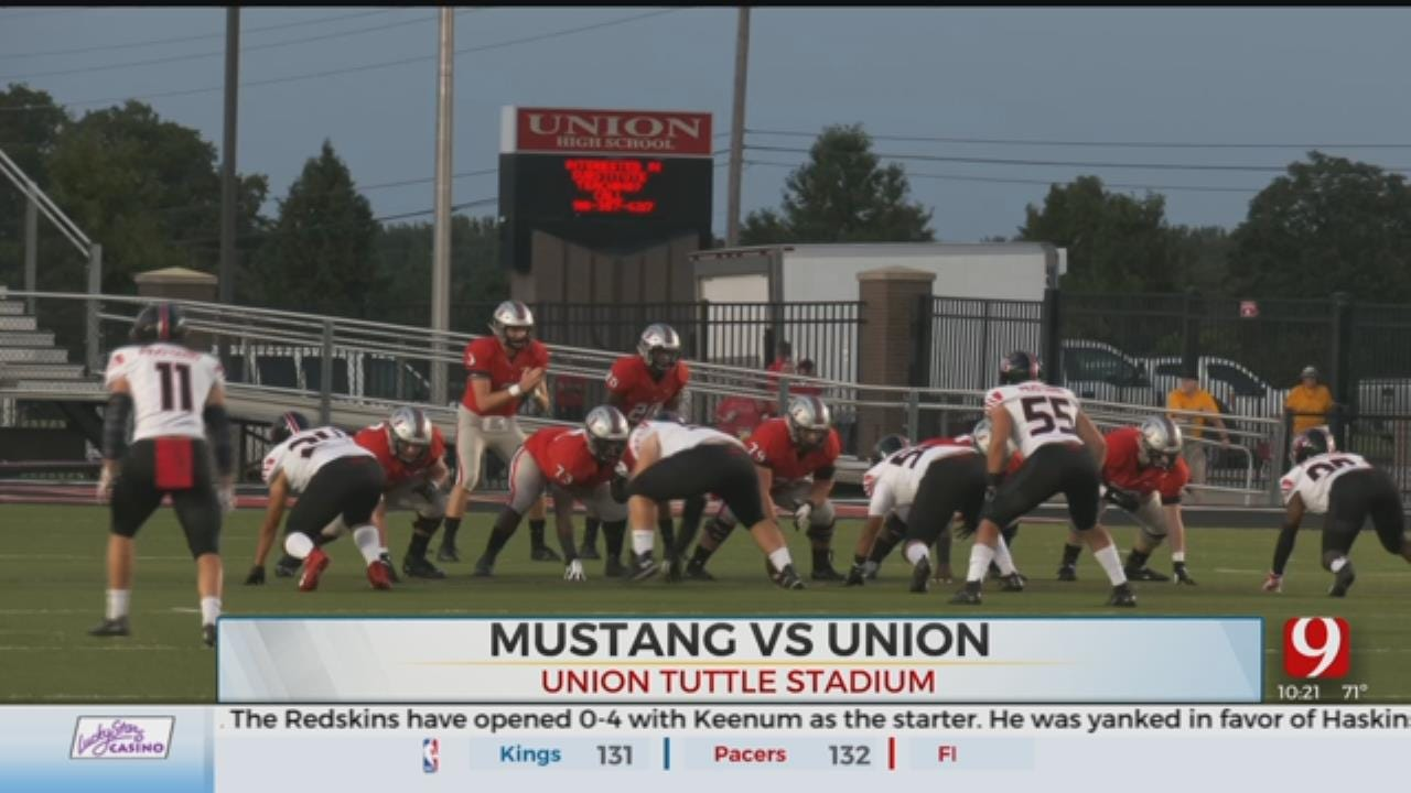 Mustang Upsets Union