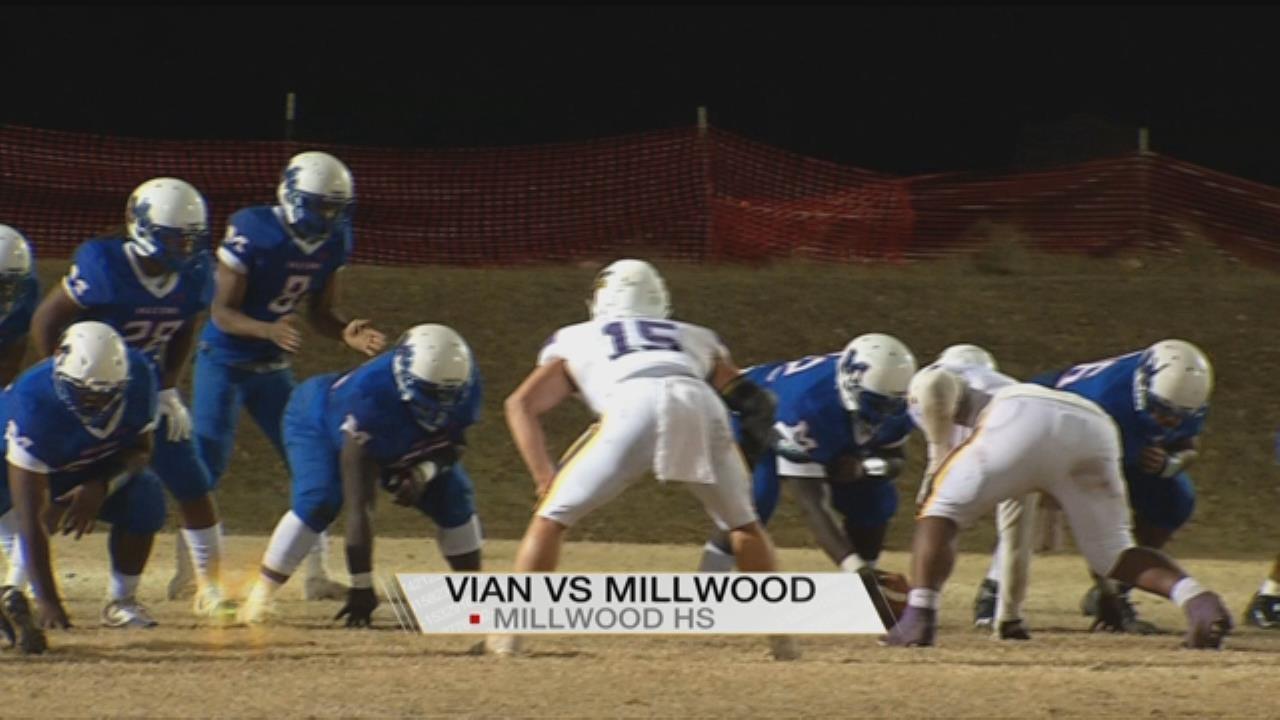 Vian Snaps Millwood's Streak