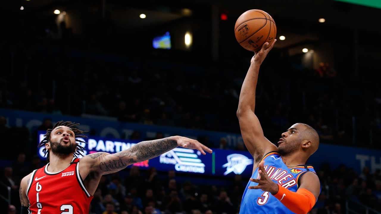 OKC Thunder's Chris Paul Named As A 2020 NBA All-Star