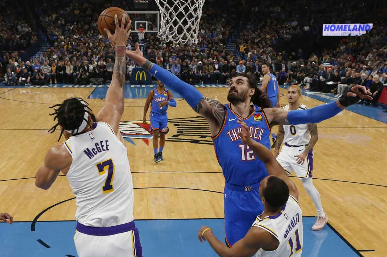 Thunder Defeated By Lakers Saturday In OKC