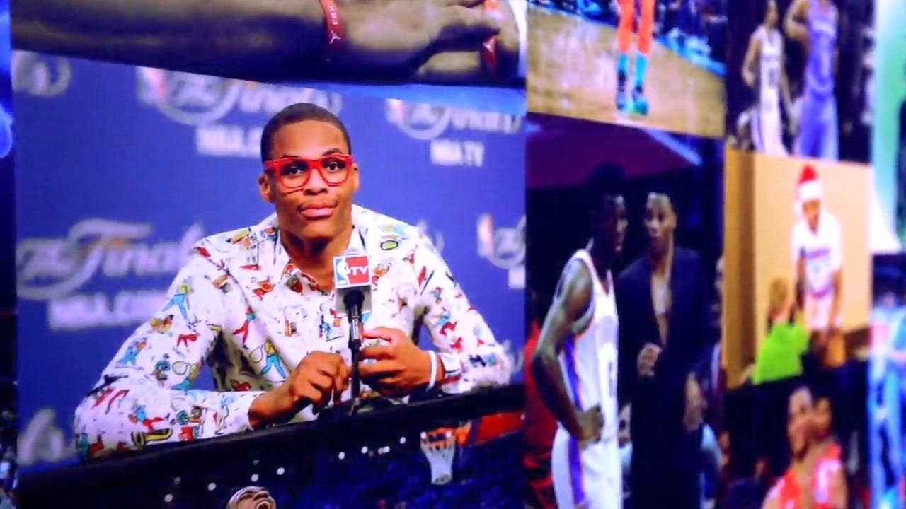 OKC Thunder Releases Russell Westbrook Tribute Video