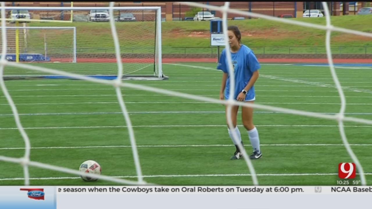 Choctaw Senior Plays Through Pain To Set 6A Scoring Record