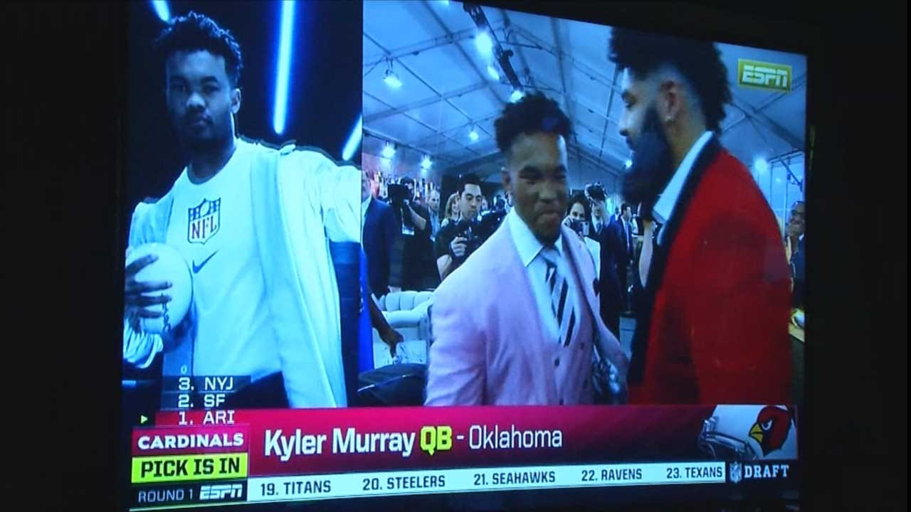 OU QB Kyler Murray Drafted Overall No. 1 In NFL Draft