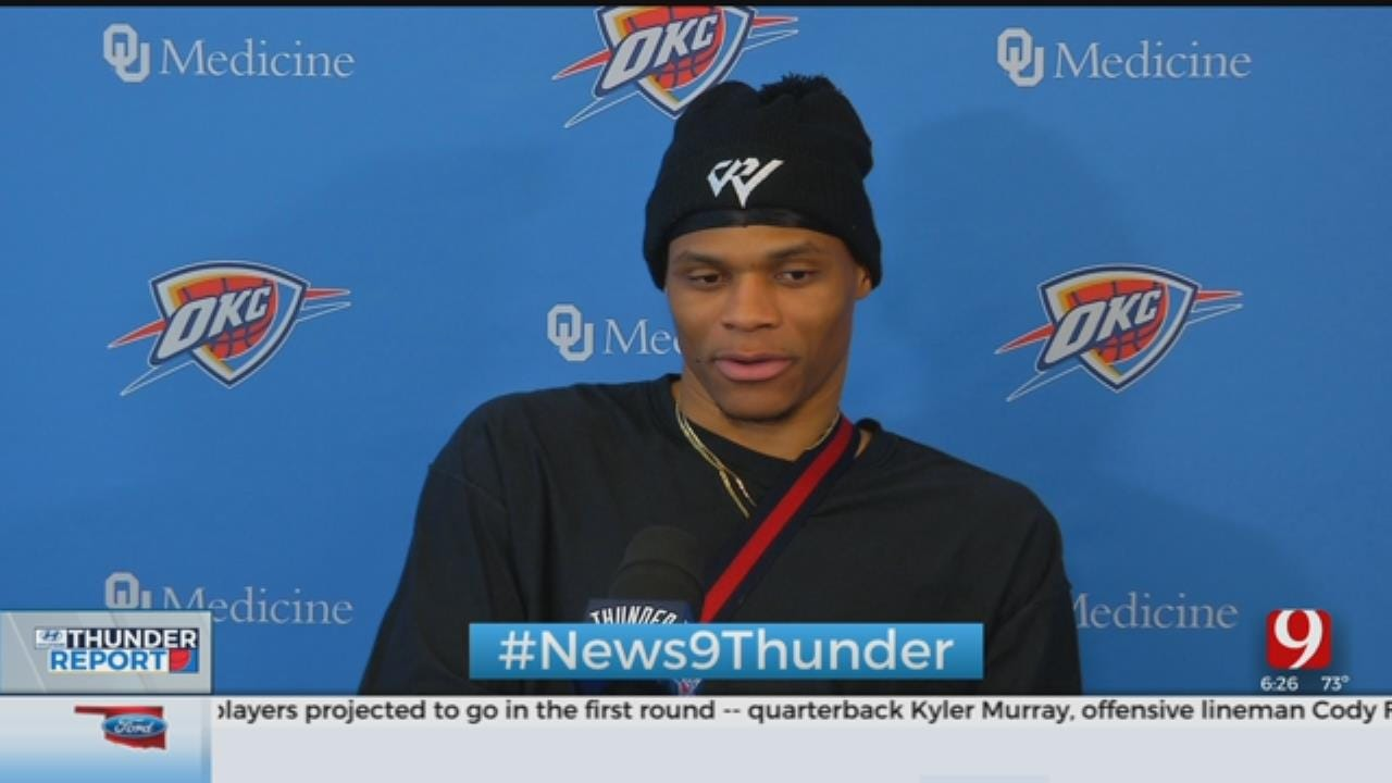 Thunder Head Coach, Players Hold Exit Interviews For 2018-19 Season