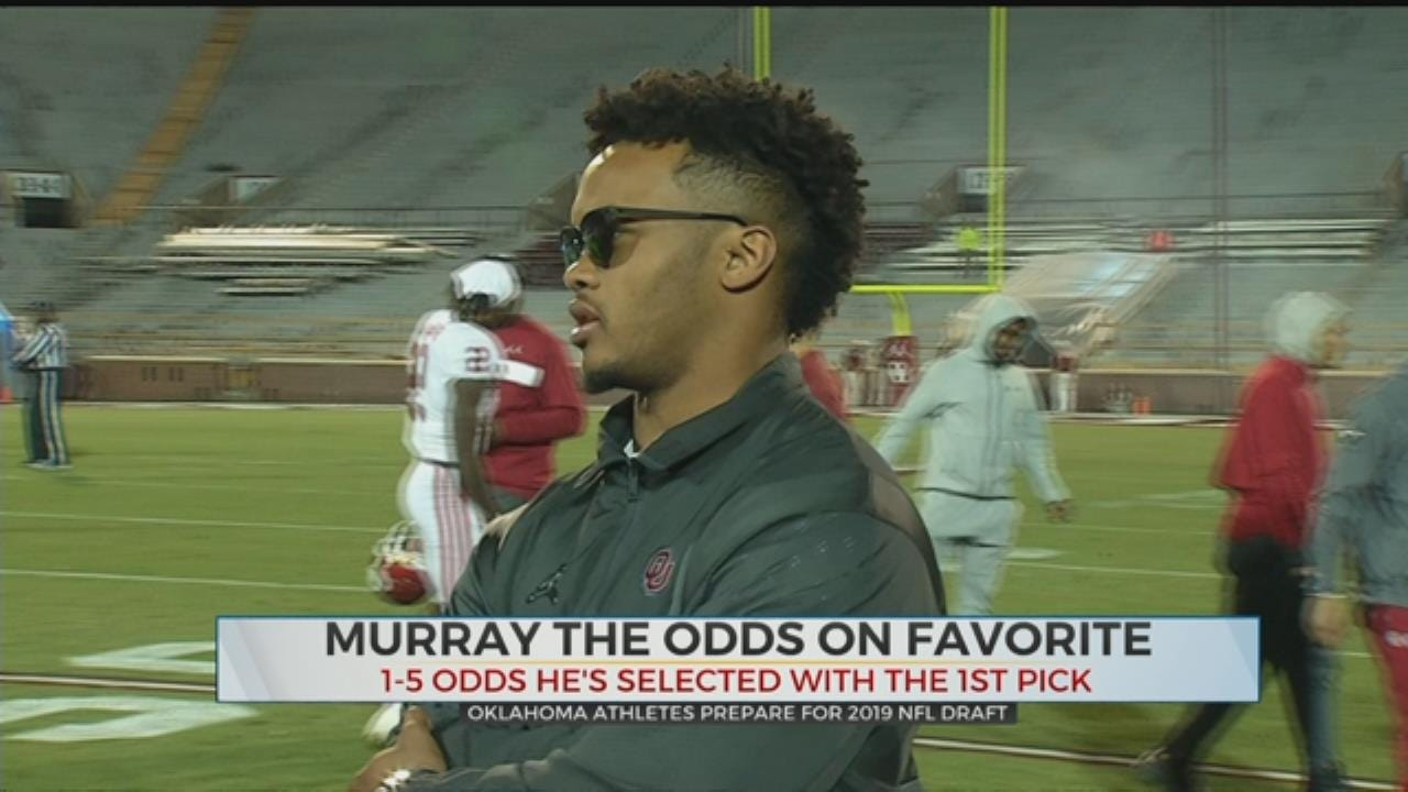 Oklahoma Athletes Prepare For NFL Draft