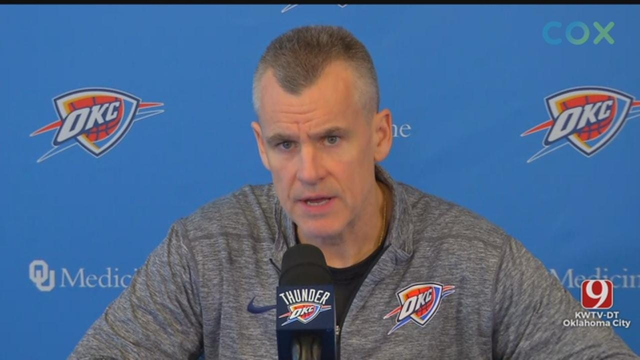 Thunder Head Coach Billy Donovan's 2018-19 Exit Interview