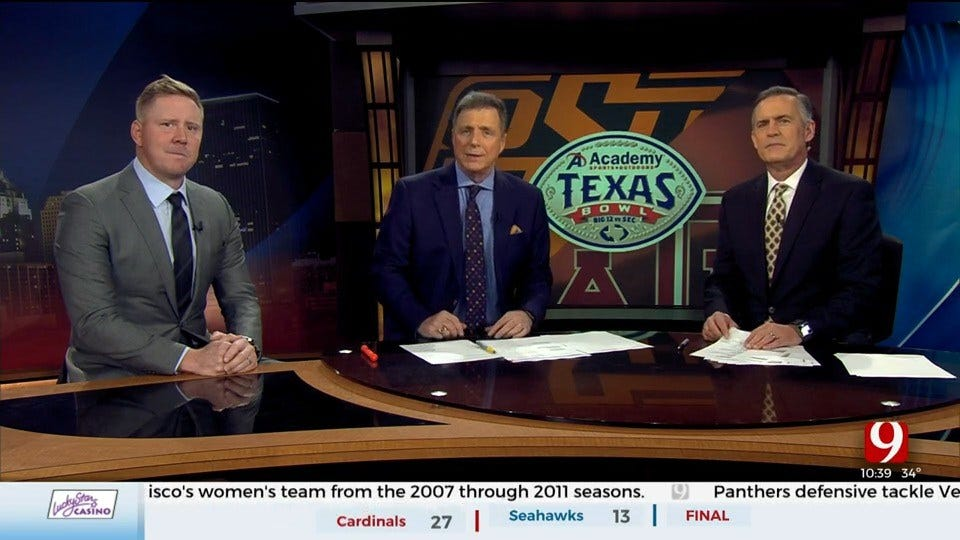 OSU Legend Brandon Weeden Joins John Holcomb For Texas Bowl Preview