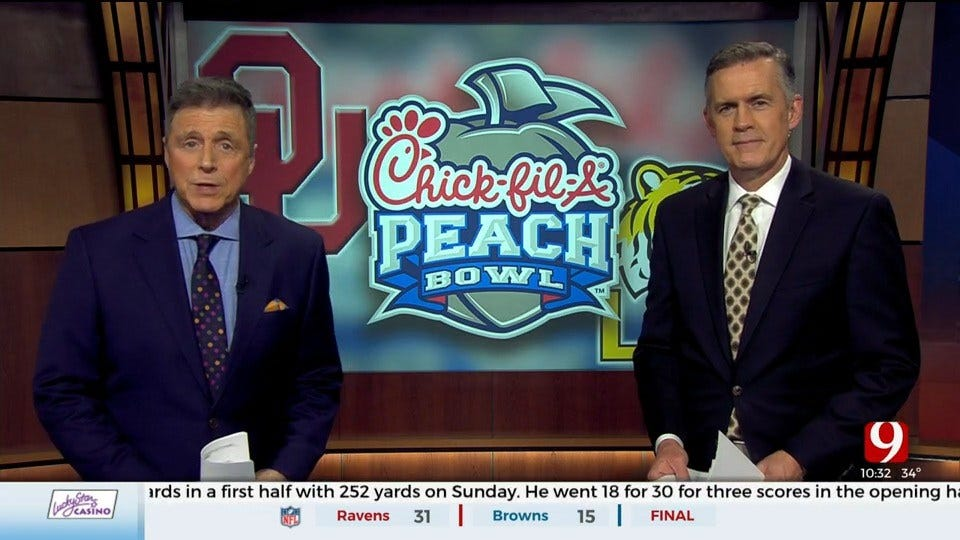 Dusty Dvoracek Joins Dean Blevins To Discuss Highly Anticipated Peach Bowl