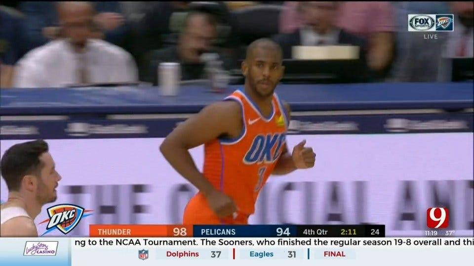Thunder Reporter Steve McGehee Recaps Thunder Win Over Pelicans