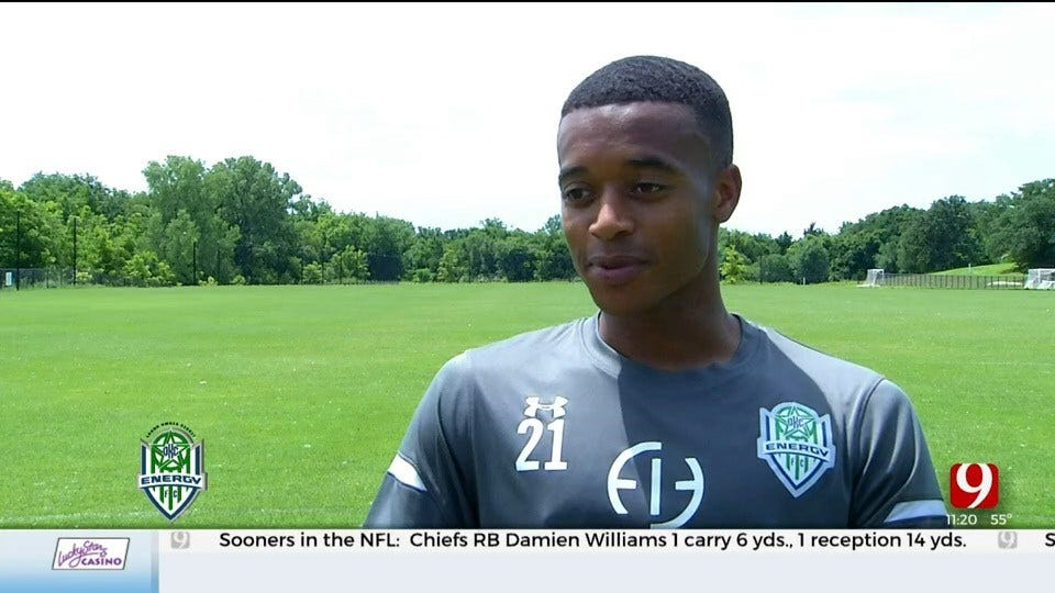 OKC Energy Soccer Player Overcomes Personal Tragedy To Fulfill His Dream