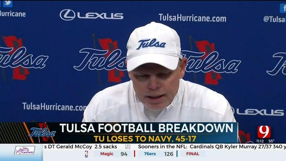 Tulsa Golden Hurricane Breakdown